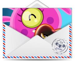 tarjeta postal Mi Corazoncete