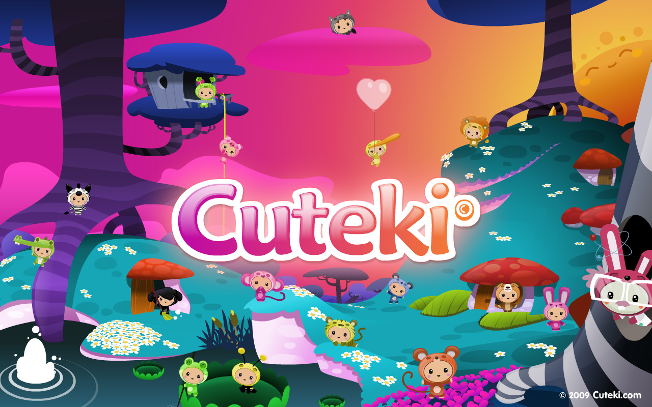 Fondos De Pantalla De Quikis: Descargas De Cuteki. Fondos De Escritorio Y Emoticonos